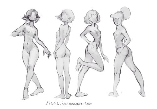 Basic poses(Curve) by Nieris