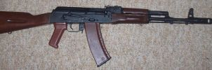 AK-74 by WolfwithGlasses