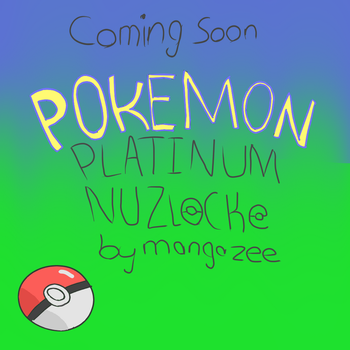 Pokemon Platinum Nuzlocke Comic ANNOUNCEMENT! by mangazee