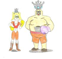 Request- TD King Hippo and TD Carla by ravenf6