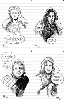 Game of Thrones panel by guillomcool