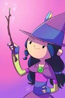Lucinda the Good Little Witch by EnciferART