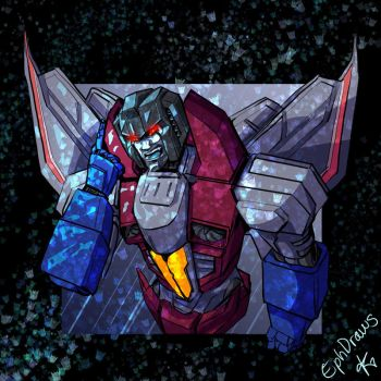 holographic Starscream by TheButterfly