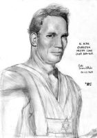 Charlton Heston by Vladsnake