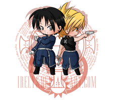FMA: Mustang x Hawkeye by Irelys