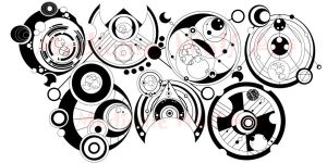 My name in Gallifreyan by IkaikaDesign