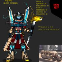 Quick Break: Infusion Ultra Magnus Final Version by Skylight22