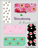 Cherry and Strawberry Pattern by Thoxiic-Editions