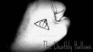 The Deathly Hallows Tattoo by guttertalkingalice1