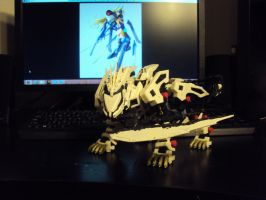 Liger Zero with Rebel (almost done) by spartan049820