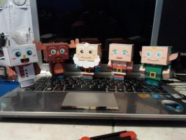 Cubeecraft  Xmas by R15ABRAHAM
