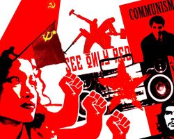 Communist Art - SEE ONLY RED by headwired