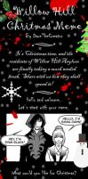 Willow Hill Christmas Meme by lady-storykeeper