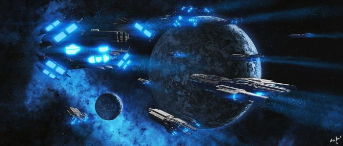 Tremendous Convoy by LordDoomhammer