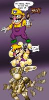 Wario, the Money Dopant by FlamedramonX20