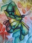 Stained Butterfly by Hawkston