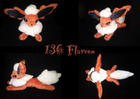 Flareon plush by nfasel