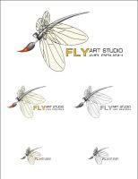 fly logo by AndexDesign
