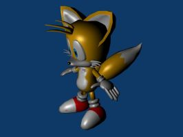 3D Tails by GaussianCat