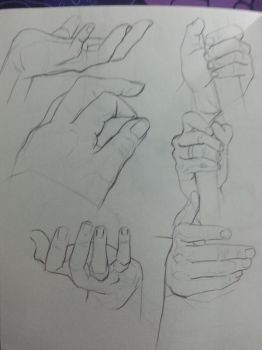 Hands #1 by Mordrii