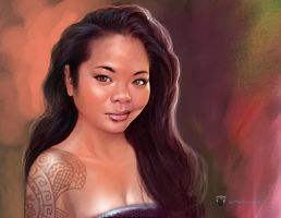 Asian Beauty by Mshindo9