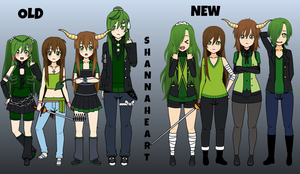 ShannaHeart's Remakes! by HatersGonnaBeHating