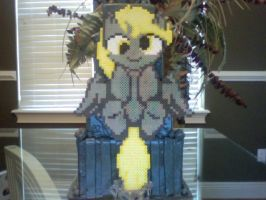 Large Perler Bead Art: Filly Derpy by Perler-Pony