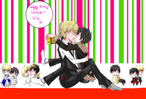 Happy Birthday Shizuo by YamiMii-Kun