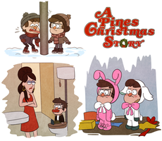 A Pines Christmas Story by Arkham-Insanity