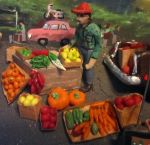 fruit vender by Reptangle
