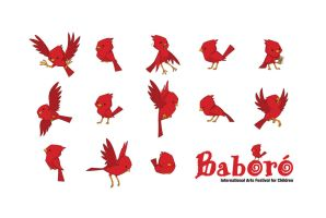 New Baboro logo and mascot by morganobrienart