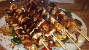 Delicious kebabs were delicious by FutureChefHaku