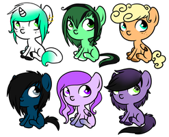 CHEEP Baby MLP Pony Adopts CLOSED by FlSHES
