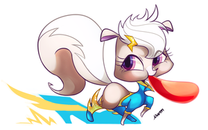 Super Speed Balloon pepper ! by Marenlicious