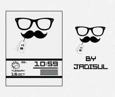 $1 Moustache by jadisul