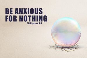Be anxious for nothing by kevron2001