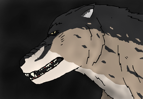 Andrewsarchus, The Hoofed Wolf by TheSpiderAdventurer