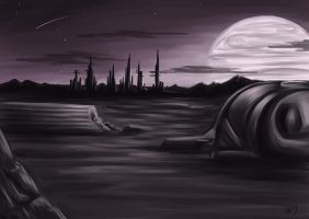Distant World by Greykitty