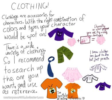 Clothing Tutorial! by MasterPeace2016