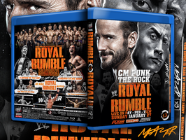 WWE Royal Rumble 2013  Blu-Ray Cover by Mohamed-Fahmy