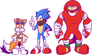 New Sonic Team by angieness