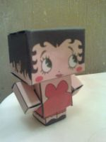 Betty Boop Cubee Finished by rubenimus21