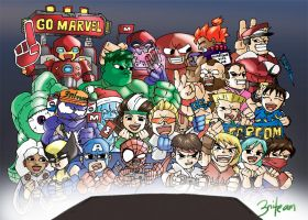 MARVEL VS CAPCOM by 3niteam