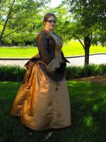 Steampunk Day Dress by IronSea