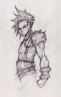 Cloud Strife Final Fantasy VII by ChrisOzFulton