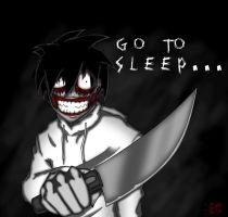 Jeff the Killer (Clear) by EC-DarkMatter