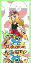 Pokemon X and Y Bookmark 1 by PolyMune