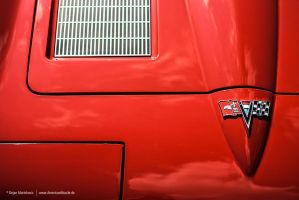 Corvette C2 Hood Detail by AmericanMuscle