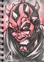 Darth Maul redlead by gb2k