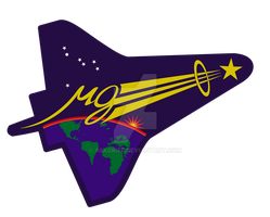 STS 107 Space Shuttle Logo by AskGriff